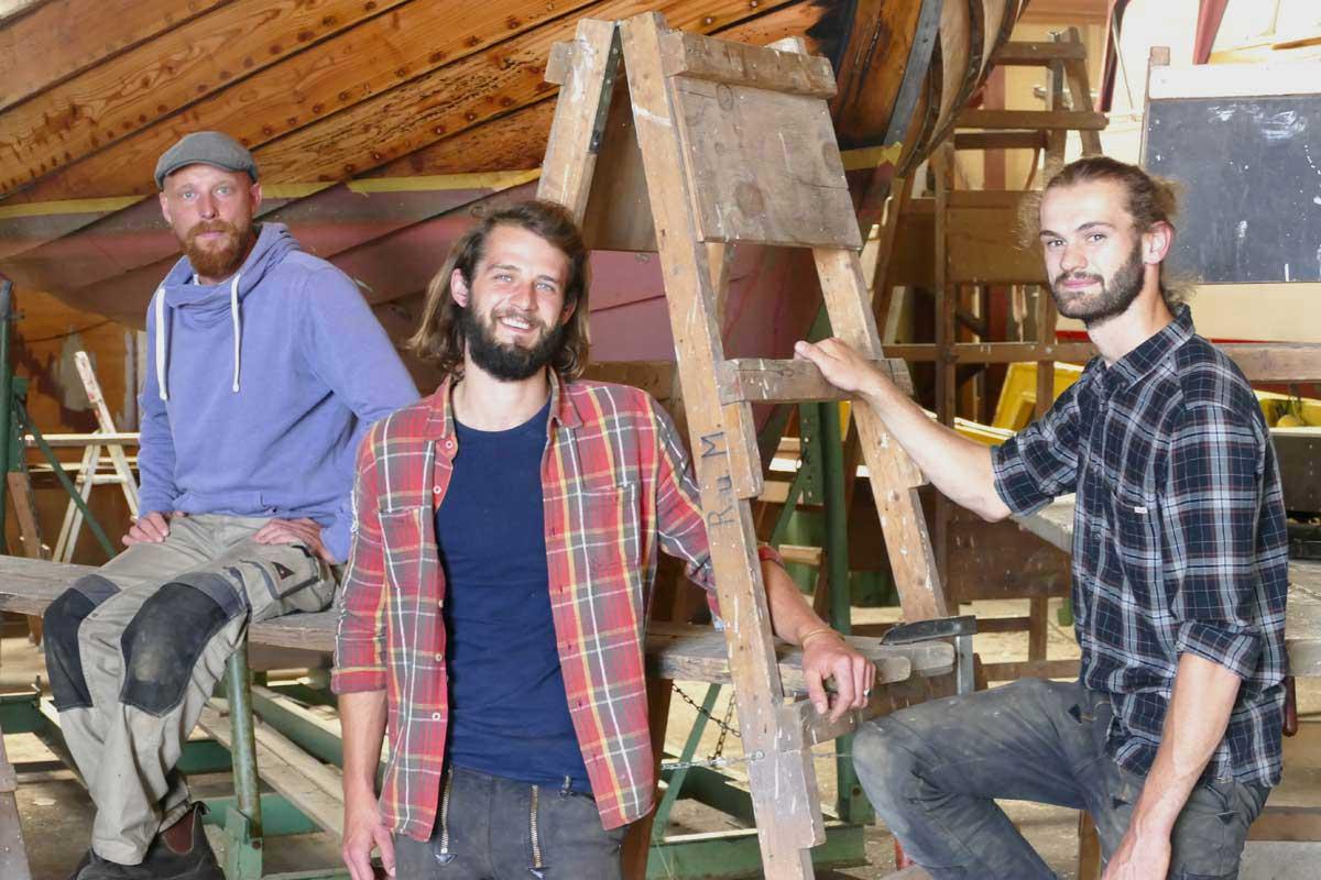 Bootsbau Team